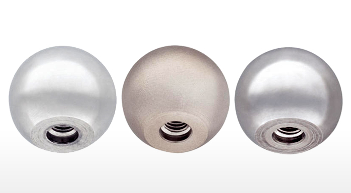 Stainless steel ball knobs