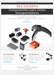 Newsletter Cintas transportadoras