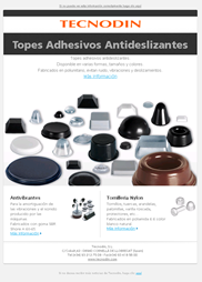 Newsletter Topes antideslizantes