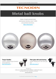 Metal ball knobs