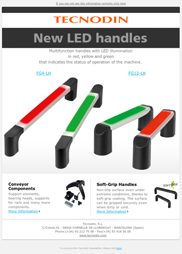 New LED handles