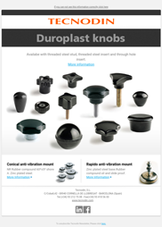 Duroplast Knobs