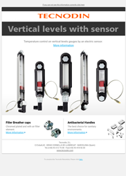Vertical gauges with sensor