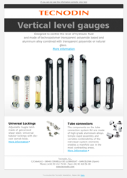 Vertical level gauges